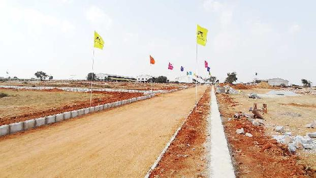 Open plots at Kothur near shamshabad airport Hyderabad