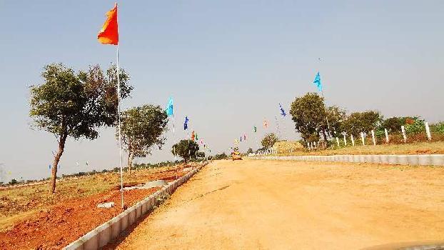 West facing plot in Kothur municipality