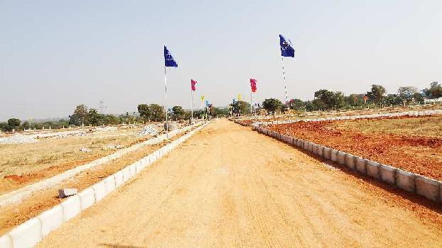 South facing plot in Kothur municipality