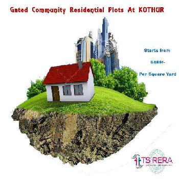 A premium gated community of residential plots at greater Hyderabad