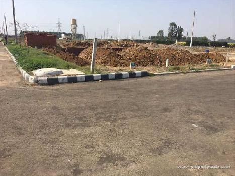 SEMI COMMERCIAL PLOT FOR SALE AT DERABASSI.