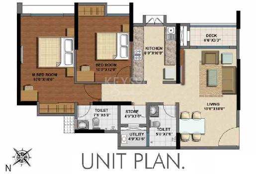 2 BHK Flats & Apartments for Sale in Majiwada, Thane