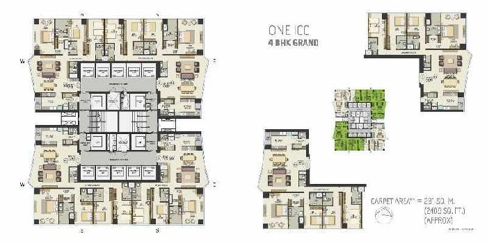 3 BHK Grand Apartment For Sale In Dadar East, South Mumbai.