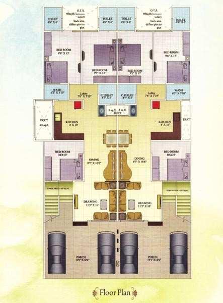 Luxurious Builder Floor Apartments