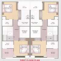 800 Sq.Ft Luxurious Duplex