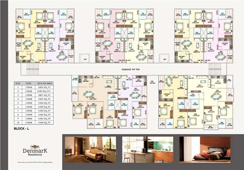 2 BHK flat for Sale at Niranjanpur Indore
