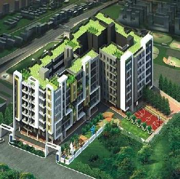 Semi Furnished, 961sqft, 2 BHK Flat for Sale