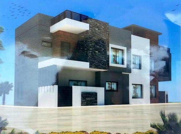 3 BHK Residential duplex near bangali square