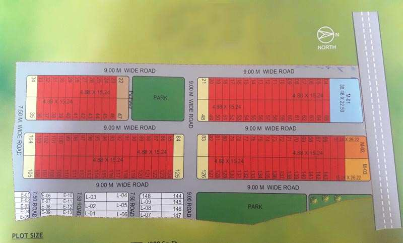 Residential plots at luxurious locality under your budget