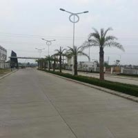 Residential plots in well developed township.