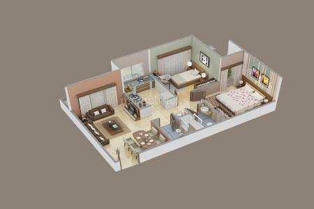 Flat for sale at Victoria Urbane Oasis, super Corridor, indore