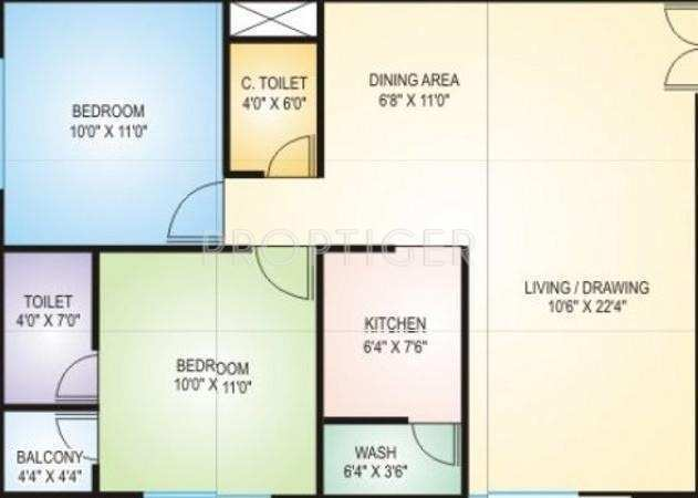 2 bhk flat on rent at hanuman nagar worli mumbai