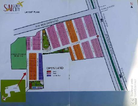 plot for sale at sai gold city by pass indore