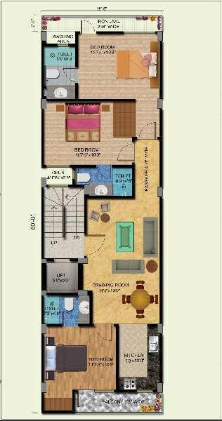 New Builder Floor 3BHK For Sale In Saket South Delhi