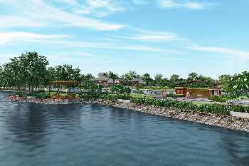 Plot in Surat lowest price lake view campus