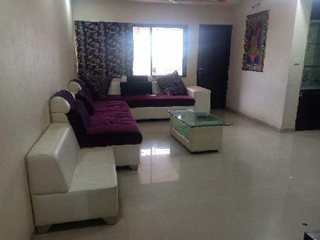 3 BHK furnished Flat For Rent At adajan L P savani Road Surat