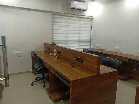 Office for Rent Fully furnished at Adajan