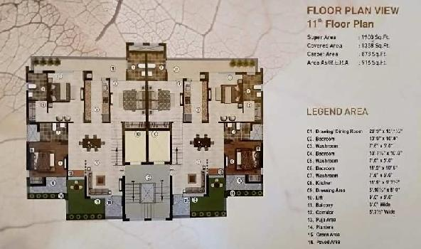 BLISS ORRA LUXURIOUS APARTMENTS AVAILABLE FOR SALE CHANDIGARH AMBALA DELHI HIGHWAY IN ZIRAKPUR