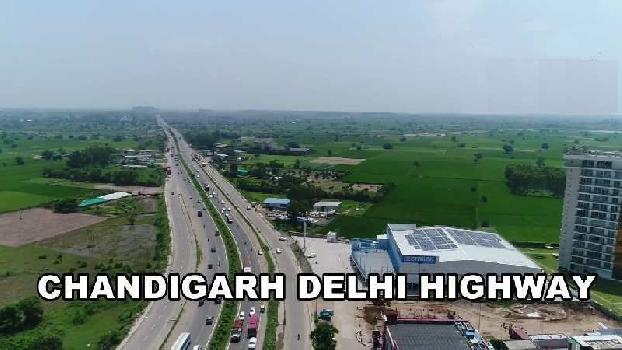Commercial Plot for Sale on Chandigarh Delhi Highway Zirakpur