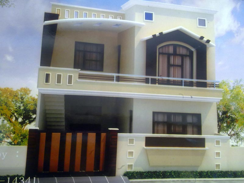 Front Design Of House In Haryana Part - 45: House Plans In Punjab India Home Design.