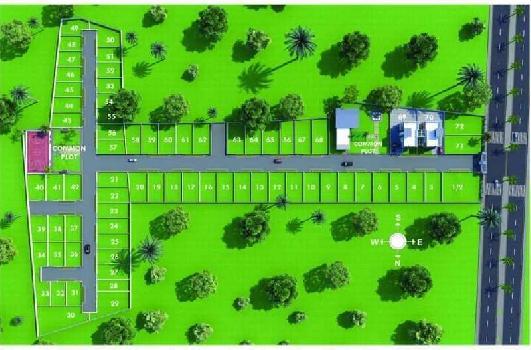 Residential Land / Plot for Sale in Atladra, Vadodara