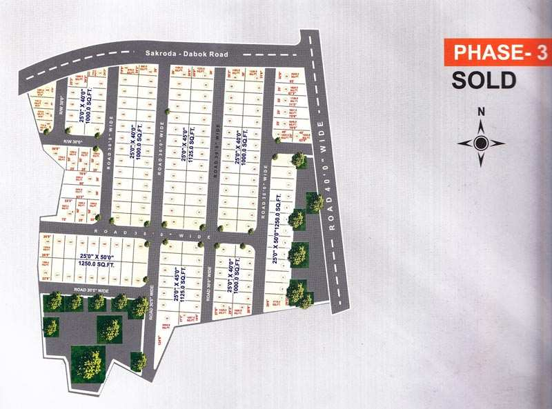 1000 Sq Ft Residential Land/plot for Sale in Udaipur