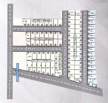 Residential Plot for Sale in Sakroda Udaipur