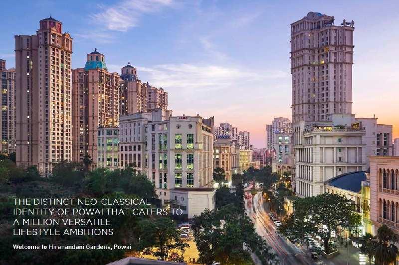 1 BHK Flats & Apartments for Sale in Hiranandani Gardens, Mumbai