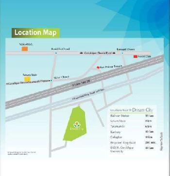 Residential  #Plots at  NH28 Lucknow-Faizabad Road, Near #Siktaur Chuarah ,Gorakhpur