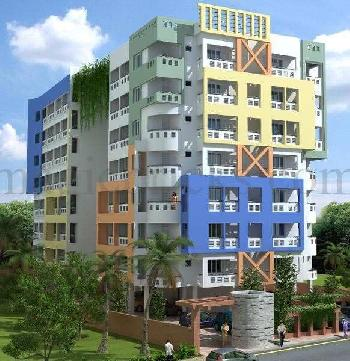 3 bed room brand new flat for sale in Puttur.