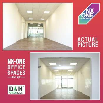 Office space 895 sqft 37 lac dah n x 1 noida extension