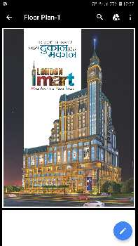 Lower Ground floor shop for sale in London mart noida extension 150 sqft 18.75 Lac
