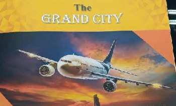 Plot for sale the grand city jewer city Plot 100 sqyds 9.50 lac