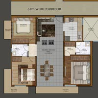 3 BHK For Sale in Gomtinagar Extension