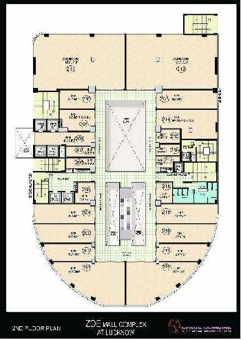 2285 Sq.ft. Showrooms for Sale in Sushant Golf City, Lucknow