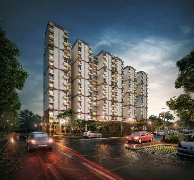 2 BHK Flats & Apartments for Sale in Ansal API Sushant Golf City, Lucknow