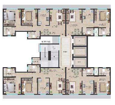 Crescent Sky Heights Dahisar East -1 BHK By Crescent Constructions