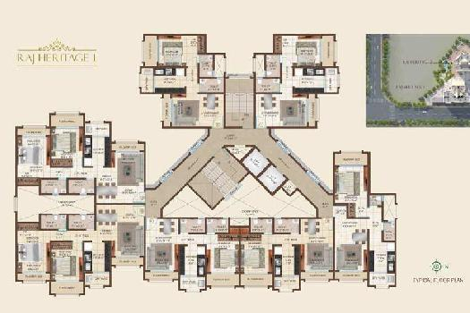 Raj Realty Group Raj Heritage 1 in Mira Road East, Price List, Rates, Images