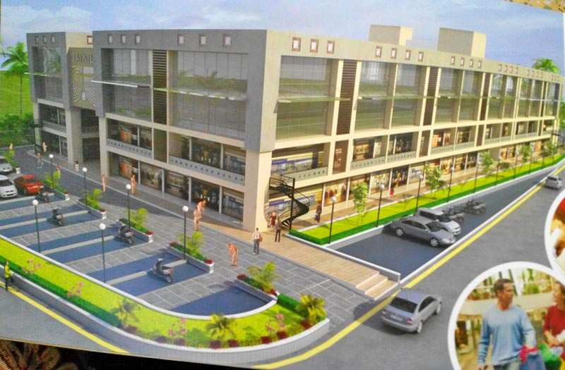 Commercial shops on NH 8