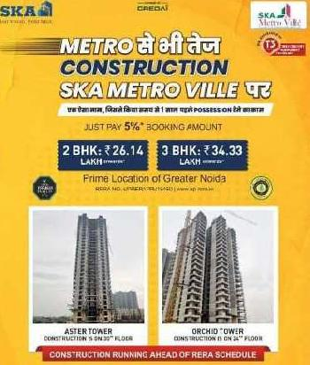 2 BHK Flats & Apartments for Sale in ETA 2, Greater Noida