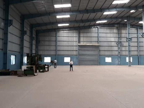 Industrial shed with office building on Rent in Chakan Midc, Pune Nashik Highway