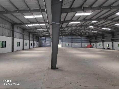 Industrial shed cum warehouse on rent at Alandi Merkal Road