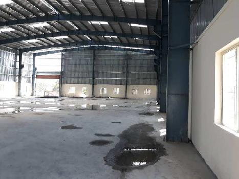 Industrial shed on rent 18000 sq ft in chakan midc, pune