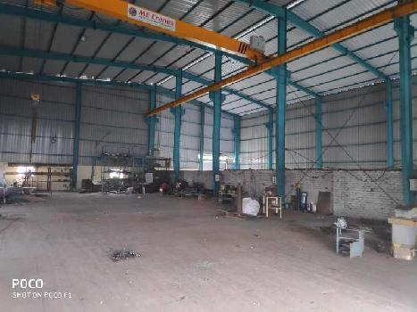 Industrial shed on rent 10000 sqft in chakan, Pune Nashik highway