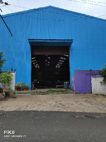 Industrial shed on rent in bhosari MIDC, Pune