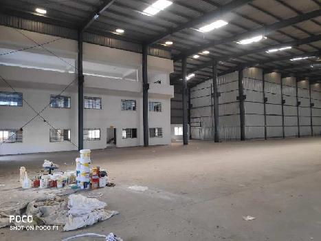 Industrial shed on rent in Chakan Talegaon road, Chakan ,Pune