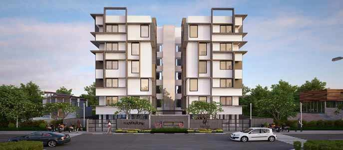 2 BHK Apartment for Rent in Jivraj Park, Ahmedabad