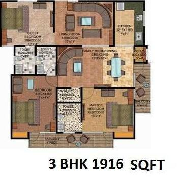 3 Bhk Flats & Apartments For Sale In Kankhal, Haridwar