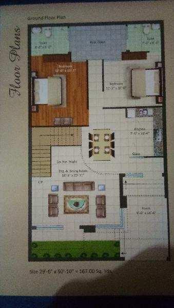 3 BHK Builder Floor for Sale in Hapur