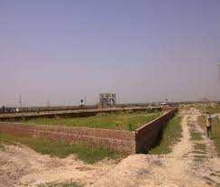 Residential Plot For Sale In Noorpur, Bilari, Moradabad. Near Mil